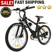 26and039and039 350/ 500w Folding Electric Bike Mountain Bicycle Upgraded Ebike Shimano 36v