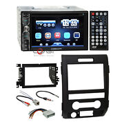 Concept Dvd Mirror Link Bluetooth Stereo Dash Kit Harness For 09-12 Ford F-150