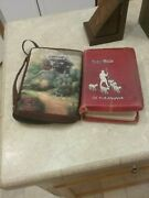 Holy Bible The Good Shepherd 1946 Kjv Thumb Index Christian With Book Case/ Cove