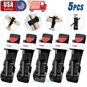 5pcs Tourniquet Rapid One Hand Application Emergency Outdoor First Aid Kit Usa