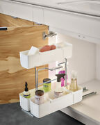 Kitchen Cabinet Cleaning Supply Caddy Rollout Storage Removable Organizer