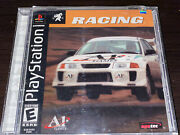 A1 Racing Sony Playstation 1 Ps1 A1 Games Agetec - Black Label Complete