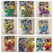 Heroes Of Goo Jit Zu Dino X-ray Entire Collection 2x Vs Packs + 7 Hero 2021 New