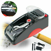 Electric Cigarette Rolling Roller Automatic Injector Maker Machine Red