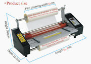110v 12.8 A3 High Speed Hot/cold Roll Laminator Single/double Side Lamination