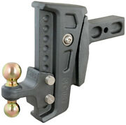 Curt 45955 Rebellion Xd Adjustable Cushion Hitch Mount With Dual Trailer Ball 20