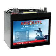 12v 75a Marine Combo Post Terminal Maintenance-free Agm Sealed Lead Acid Battery