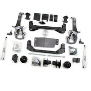 Zone Offroad D22 Suspension System W. 4 Lift And Hydraulic Shocks For 12 Ram 1500