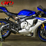 M4 Yamaha Yzf-r1 2015-2018 Street Slayer Slip On Exhaust Carbon Canister