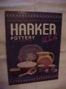 Harker Pottery, Collector's Guide To By Colbert Id Values Antiques 1993