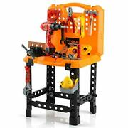Pretend Play Series Standard Workbench Toy Tool Play 82 Pieces Construction Work