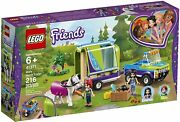 Lego Friends Miaand039s Horse Trailer 216 Pieces 41371 - Sealed - New