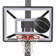 Silverback Junior Youth 33 Basketball Hoop With Lock Rock Mounting Technology
