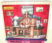 Lemax Village Collection Yulesteiner Brewery Sights And Sounds