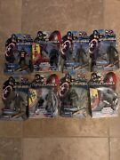 Marvel Captain America 3.75 Lot Of 8 Action Figures