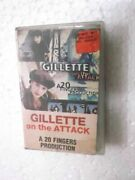 Gillette On The Attack Clamshell 1995 Rare Orig Cassette Tape India Indian