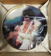 """Loving You"""" Hamilton Collection, Elvis Remembered Series 2nd Plate 1987, Nib"""