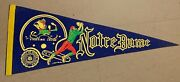 Notre Dame Fighting Irish 1960's College Football Full-size Vintage Pennant