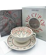 The Cup Of Destiny Jane Lyle Fortune Telling For Tea Leaves Cup Book New Sealed
