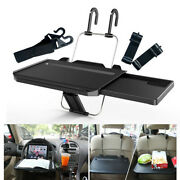 Car Seat Mount Tray Laptop Table Notebook Desk Food Drink Cup Holder Universal