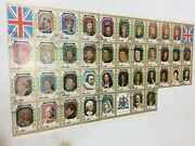 Umm Al Qiwain 1971 King And Queens Of England 38 Stamp Sheet C.t.o