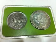 Rare Coin India 1979 Year Of Child Unc Set 10 And 50 Rupees Rs