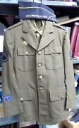 Wwii Jewish Usaaf Army Air Force Weatherman Jacket Shirt Hat 3rd Air Force 38r