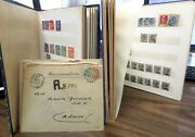 Italy Nice Collection Of 900+ Used Perfins And Better Covers