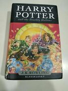 Harry Potter And Deathly Hallows Hardcover Uk First Edition Book Rare