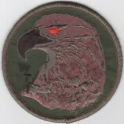 3 Usmc Wti Green Red Eye Eagle Tactics Instructor Embroidered Jacket Patch