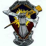 5 Navy Vaq-136 Oif Harm Shooter Naf Atsugi Japan Embroidered Jacket Patch
