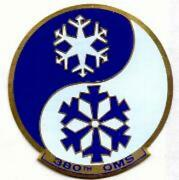 Air Force 380th Oms Bomber Metal Military Jacket Patch