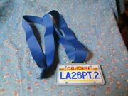 March 5 1989 The City Of Los Angeles Marathon Iv Atandt Ribbon Medal 3 1/2 Wide