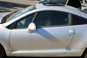 Lh Left Driver Front Door Silver Coupe Shell Thru 1/31/06 2006 Eclipse Car_rm