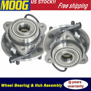 2wd Front Wheel Hub And Bearing Pair For 98-05 Chevy Blazer/98-04 Gmc Jimmy 5 Lug