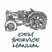Service Manual - 7110+ Compatible With Case Ih 7130 7110 7240 7140 7230 7120
