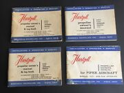 New Unused Piper Hartzell Aircraft Propeller Owners Manuals And Log Books