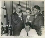 1965 Press Photo Marion Cox And Company Test Cab Hotline To Police - Noa76882