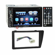 Concept Dvd Bluetooth Phonelink Stereo Dash Kit Harness For 01-05 Honda Civic