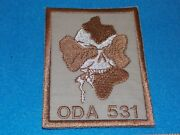 United States Us Special Forces Team Patch 531 Oda - Mint