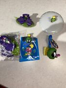 Marvin The Martian Subway Toys Lot Of 5