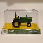 Rare John Deere, Tractor 4020, Ertl Iron, Collection Edition, Sealed, Farm Toy