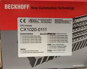 1pc Beckhoff Cx1020-0111 New In Box