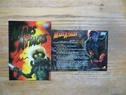 1994 Topps Mars Attacks Archives Wrapper 0 Card Signed Zina Saunders Art, Coa
