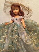 Nancy Ann Storybook Doll 304 Turquoise 6.5 Hp 1955 Doll