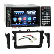 Concept Dvd Bluetooth Mirrorlink Stereo Dash Kit Harness For 09+ Toyota Corolla
