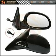 Mirrors Manual Fits 96-00 Honda Civic Coupe 2d Lhandrh Side Black Remote Ho1321109