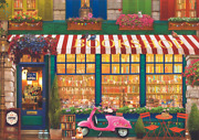 Puzzle Jigsaw 4000 Pieces Educa Cardboard Vintage Bookstore Gift