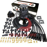 Dragon Fire Pro Series Distributor Coil And Spark Plug Wire Set For Ford 221-302