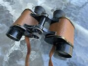 """Wwi Binoculars And Strap """"signal Corps U.s. Army Special Sergeant Name Engraved"""